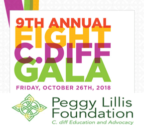 October 26, 2018 – CutisPharma Supports Peggy Lillis 9th Annual Fight C. Diff Gala