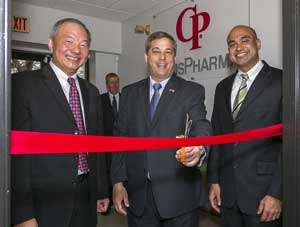Massachusetts Senator Bruce Tarr Helps Celebrate Opening of New R&D Facility