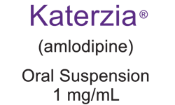KATERZIA® (amlodipine) Oral Suspension, 1 mg/mL